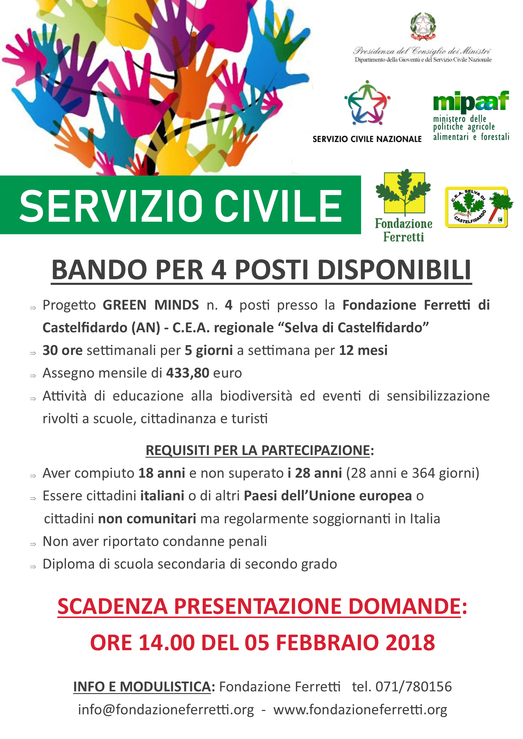 Progetto SCN Green Minds