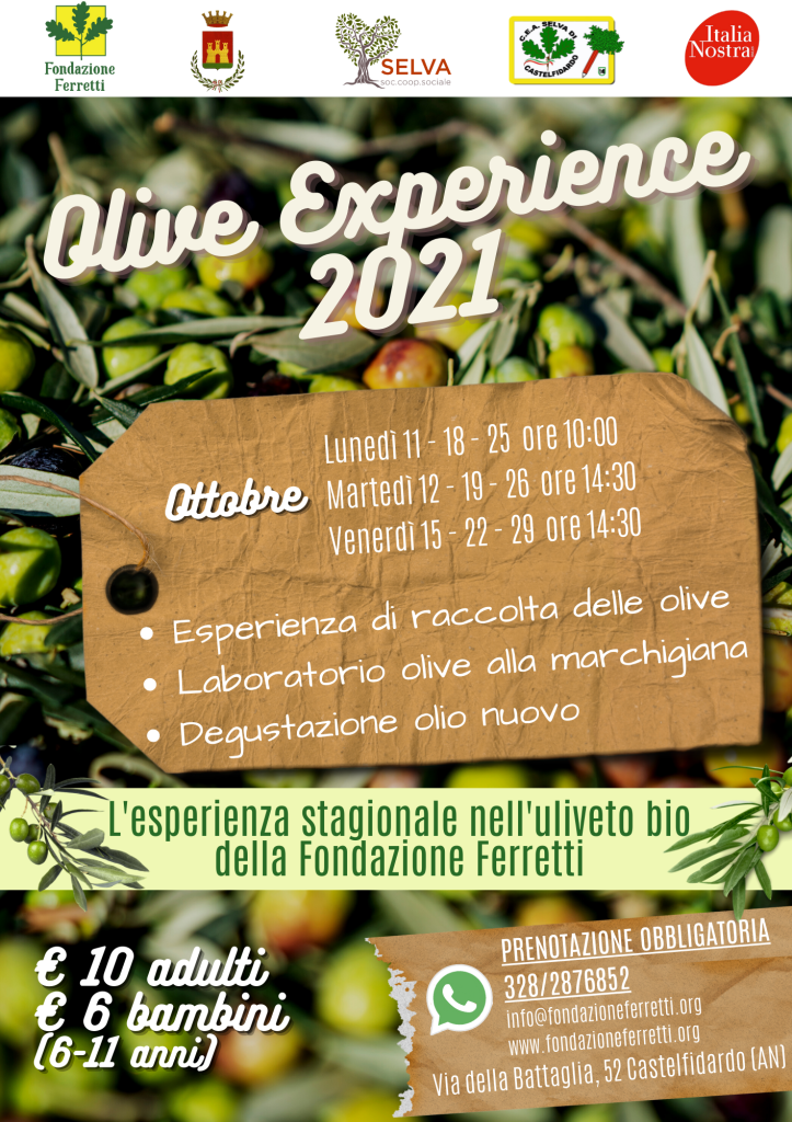 Olive Experience 2021